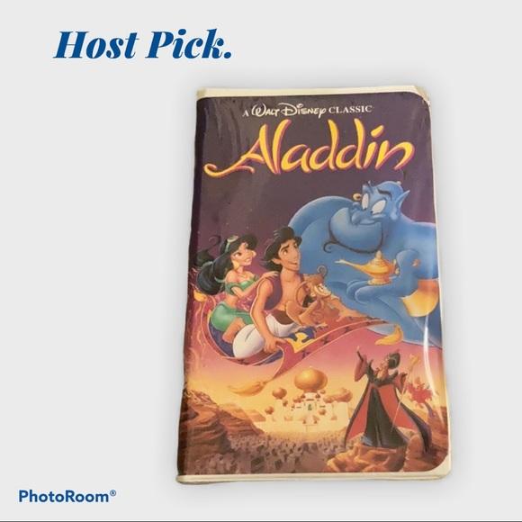 🍬3/$25 vintage vhs Aladdin
